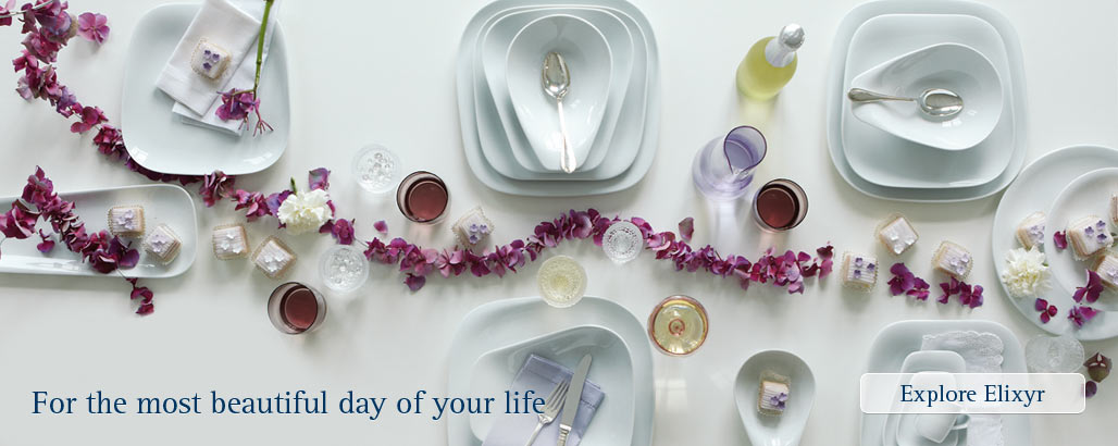 Gorgeous porcelain for your most special day