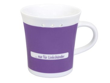 Linkshändertasse
